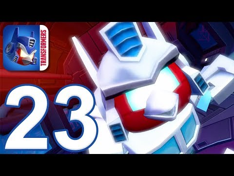 Angry Birds Transformers - Gameplay Walkthrough Part 23 - Energon Optimus Prime (iOS, Android)