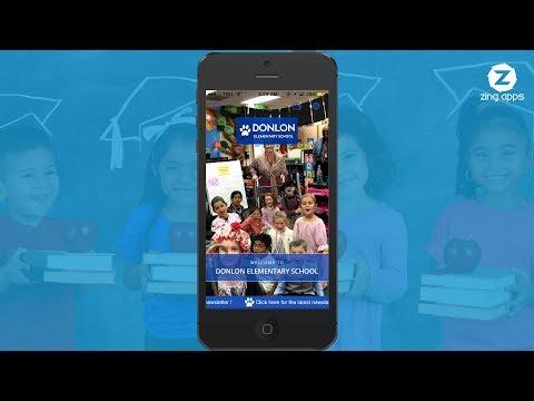 Donlon Elementary School App