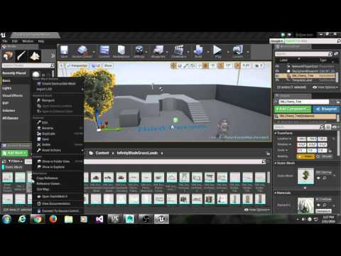 Export Assets From Unreal to Maya & Back to Unreal