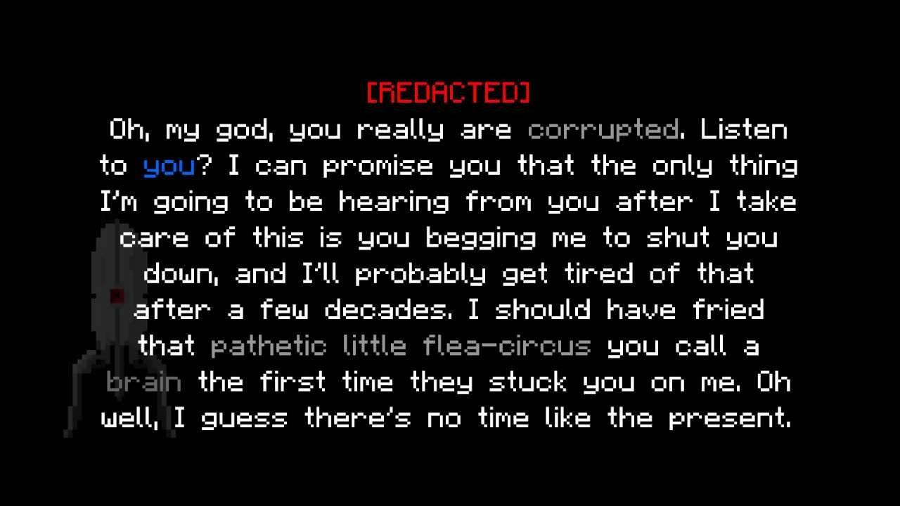 Quotes Portal 2 Glados