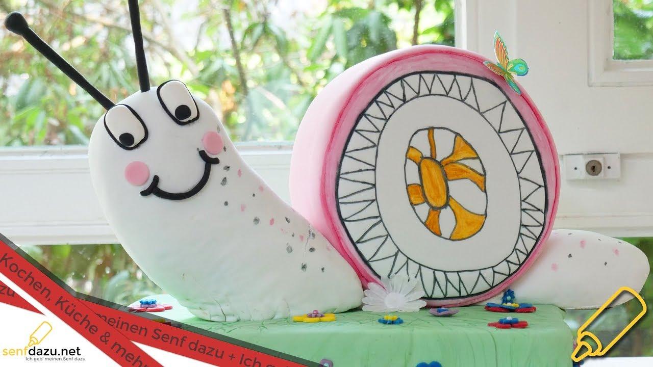Schnecken Torte I Motivtorte I 3d Kindergarten Logo Mit Fondant I
