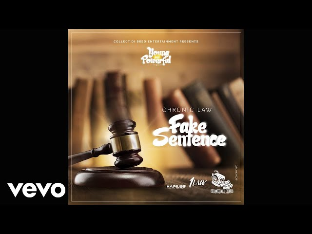 Chronic Law - Fake Sentence (Official Audio) - ChronicLawVEVO