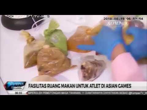 Begini Fasilitas Ruang Makan Untuk Atlet Di ASIAN GAMES 2018 #KSS