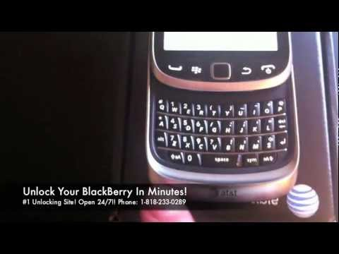 How to Unlock Blackberry Torch 9810 for all Gsm Carriers using an Unlock Code