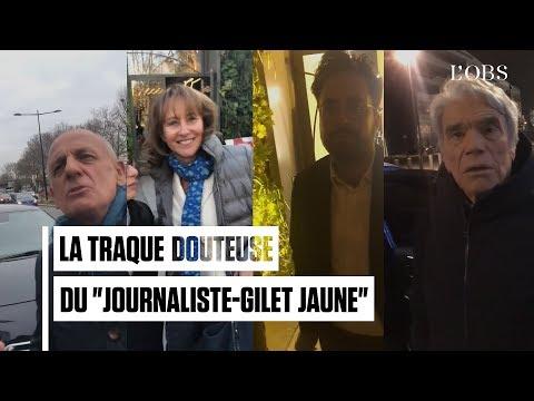 Tapie, Royal, Mahjoubi, le journaliste-gilet jaune ne s'en est pas pris qu'à Jean-Michel Aphatie