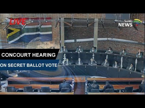 ConCourt hears secret ballot application by opposition parties, 15 May 2017 Part 2