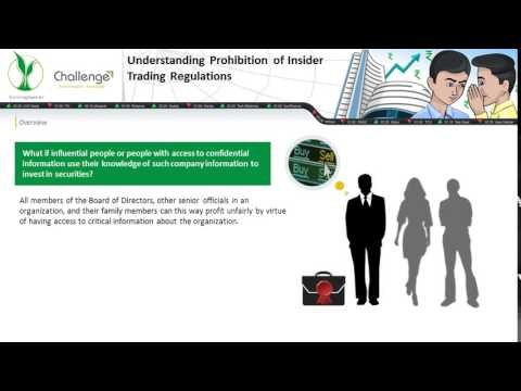 Understanding Prohibition of Insider Trading