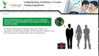 Understanding Prohibition of Insider Trading