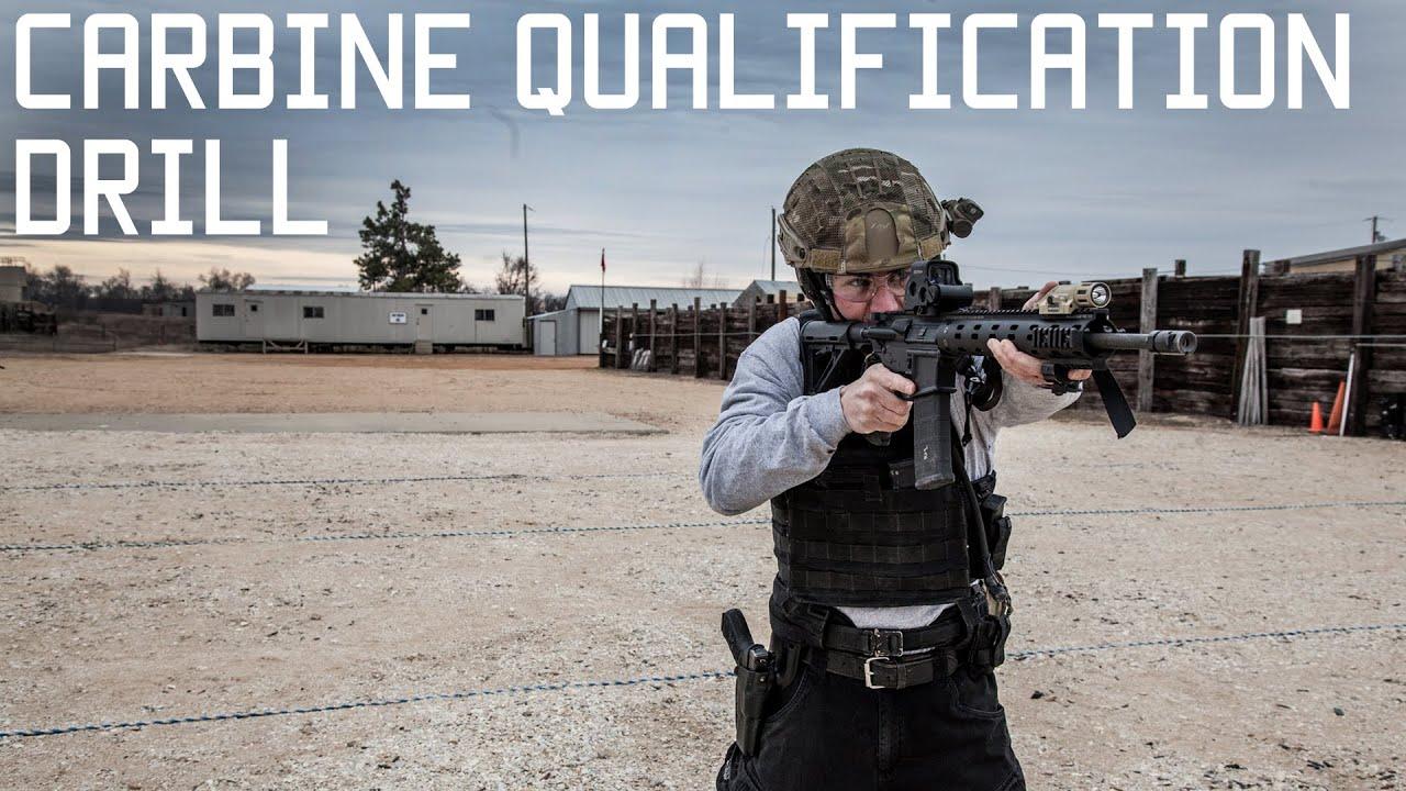 Fun Shooting Drill Shooting Tips: Marine Carbine Qualification Drill