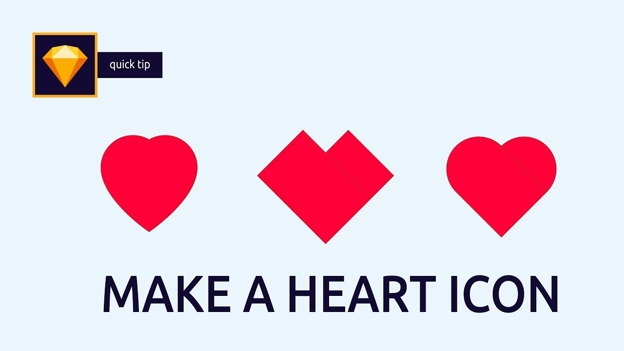 how to make vector heart icons in sketch app sketch app tip 1