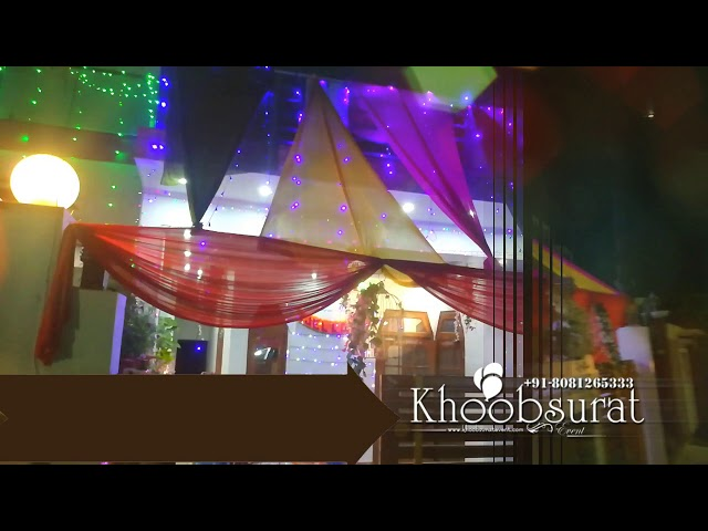 Wedding home Decor#khoobsurat events