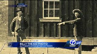 Company says tintype shows Billy the Kid