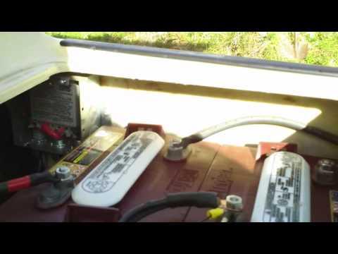 CHARGING 36 VOLT SOLAR POWERED GOLF CART  www.airone.net
