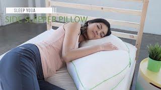 best side sleeper pillow sleep yoga