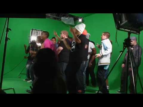 Zed Bias - Neighbourhood 2009 remix - Video Shoot / Interviews