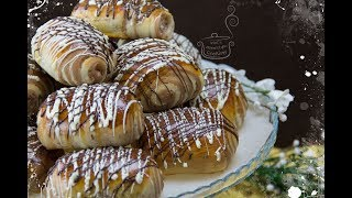 Αφράτα μίνι τσουρεκάκια με κακάο και σοκολάτα-Best mini greek sweet bread