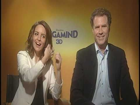 Will Ferrell and Tina Fey Interview for MEGAMIND