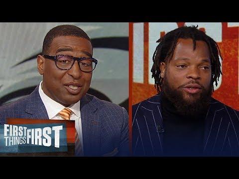 Michael Bennett on Carson Wentz criticism, Nick Foles & Kyler Murray | NFL | FIRST THINGS FIRST