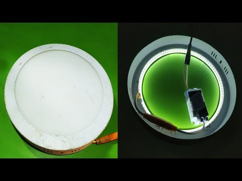 LED Ceiling Light Replacement    LED Ceiling Light Repair    How To Repair LED Light Easily