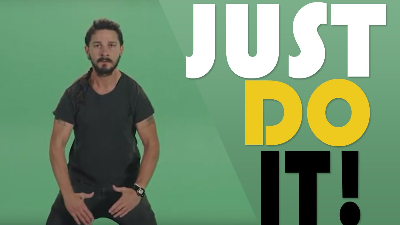 Image result for shia labeouf do it