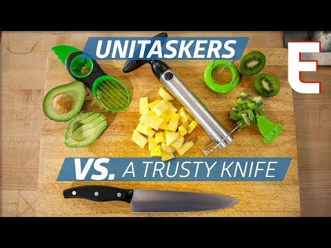 Unitaskers VS. Good Old-Fashioned Knife Work — You Can Do This!