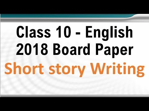 How to tell a great story in english class 10