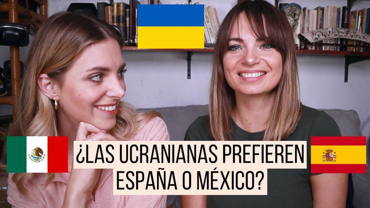 Espana O Mexico Ucranianas Sobre Migracion Relaciones Y Culturas Girltalk Iryna Fedchenko Youtube