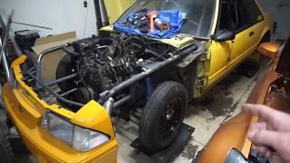 CHOP CHOP!!! Twin Turbo LS Swapped 350z Idle FIX!!!
