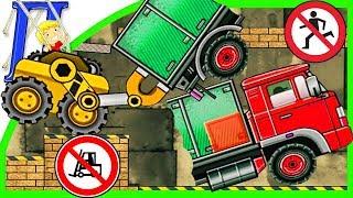 Веселый Погрузчик 5 Мультик - Игра Про Машинки  Level 1-15