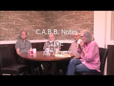 C.A.B.B. Notes: You Can Reduce Your Carbon Footprint - 7/14/17