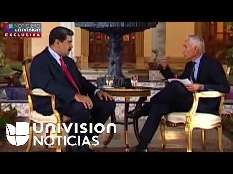 La entrevista completa de Jorge Ramos a Nicolás Maduro