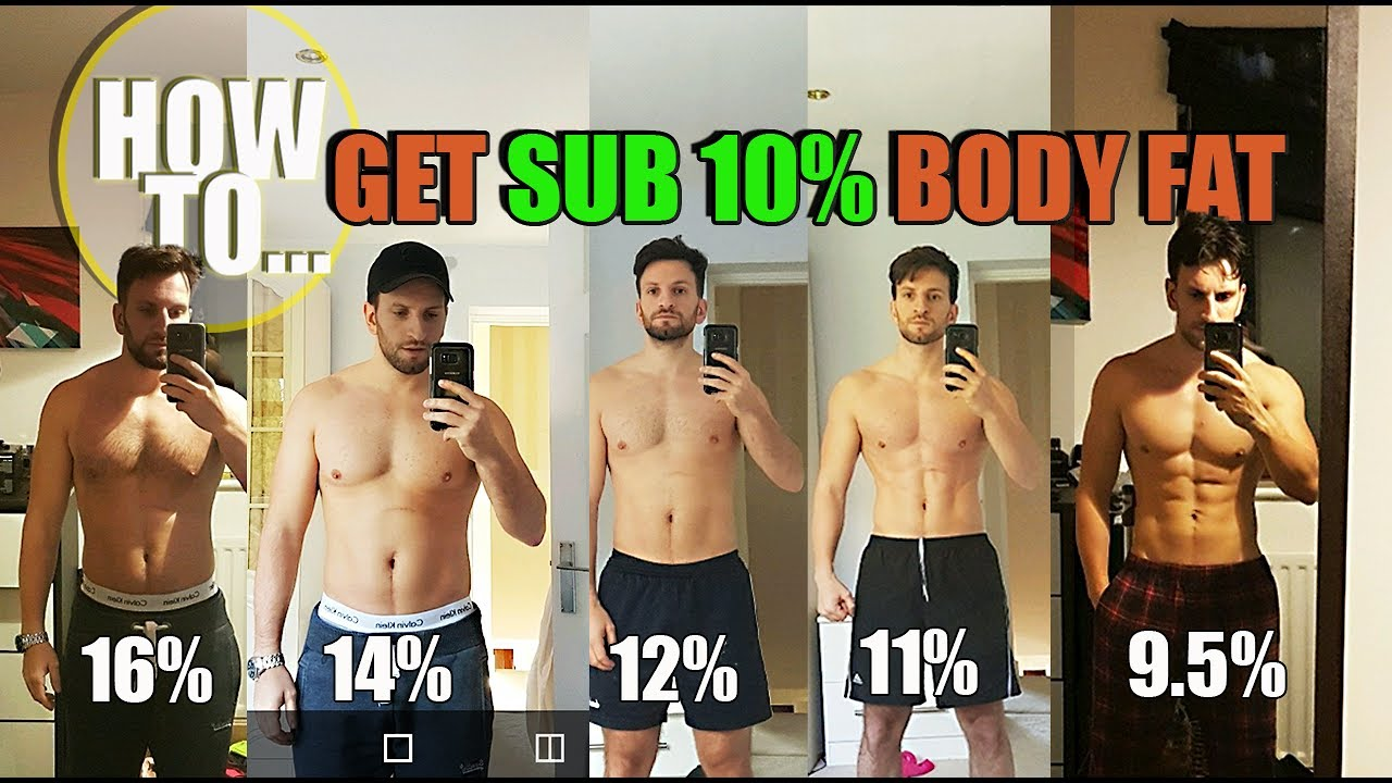 diet to get to 10 body fat