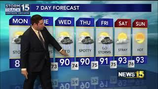 Meteorologist Cory Smith Summer 2021 Resume Reel