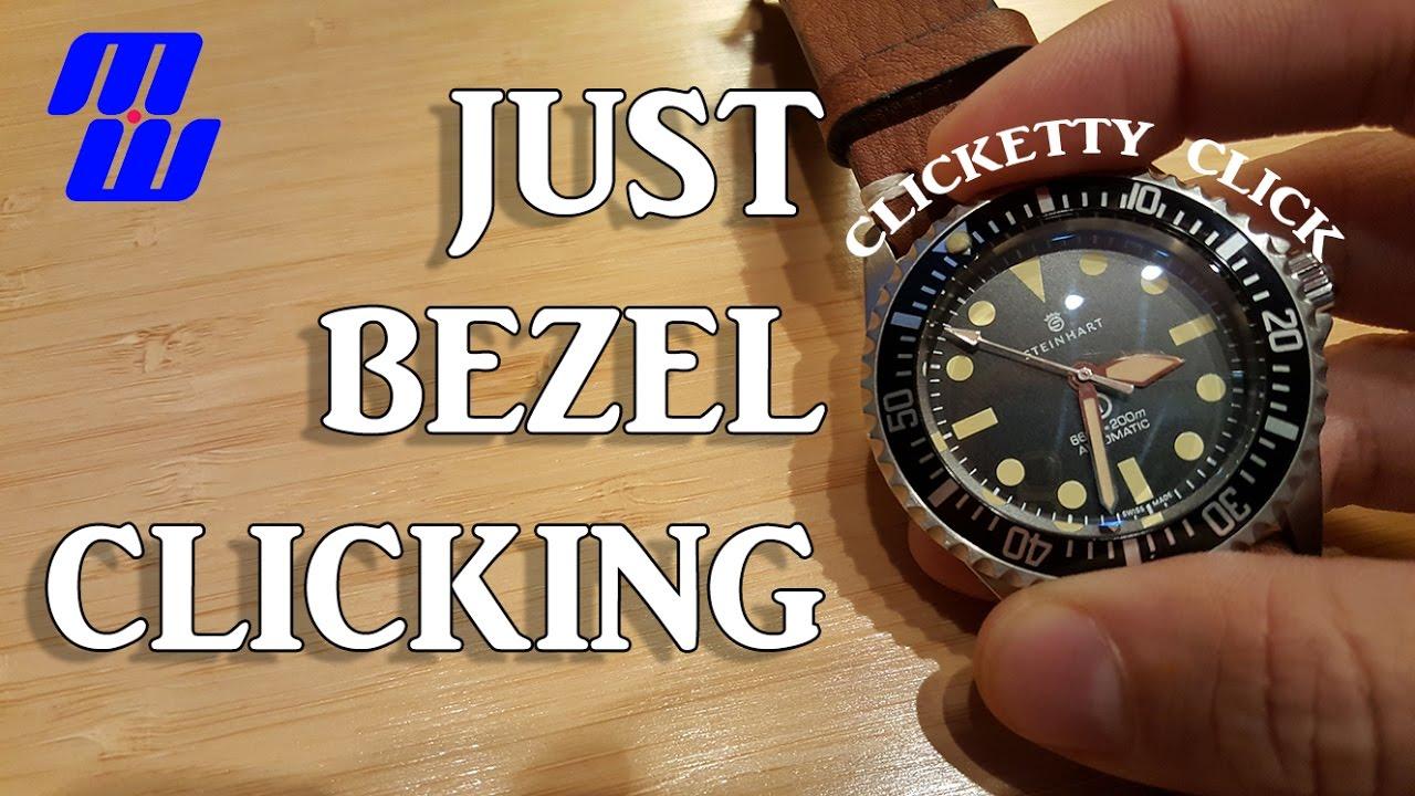Just Diver Watch Bezel Clicks ASMR? (Steinhart OVM, Orange Monster, Orient  Mako USA, etc)