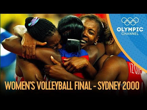 Women's Volleyball Final - CUB v RUS | Sydney 2000 Replays