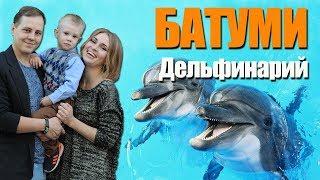 Дельфинарий в Батуми, кондитерская Dona и парк 6 мая. Путешествие с детьми в Грузию
