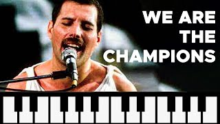 Como Tocar: We are the Champions - Queen [ MELODICA ][ TUTORIAL ][ NOTAS ]