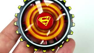 Best Superman Fidget Spinner: Two Spinners in One!!!