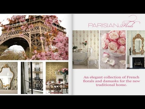 Цветочные обои Parisian Florals от KT Exclusive