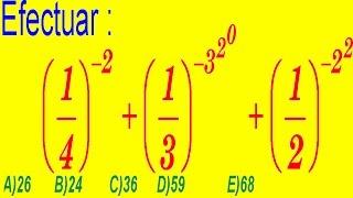 Leyes de Exponentes - Pregunta Resuelta - Examen de Ingreso a La Universidad -  Álgebra Rubiños