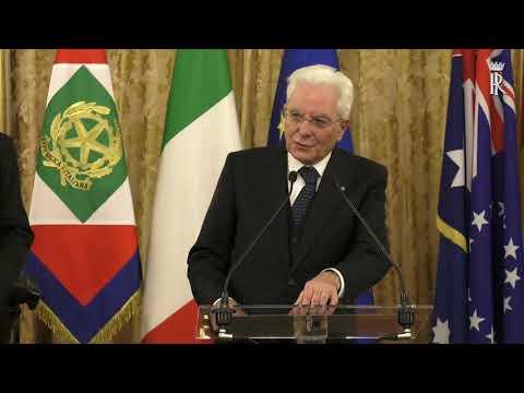 """Il Presidente Mattarella incontra i Capi delle Delegazioni del """"Pacific Island Forum"""""""