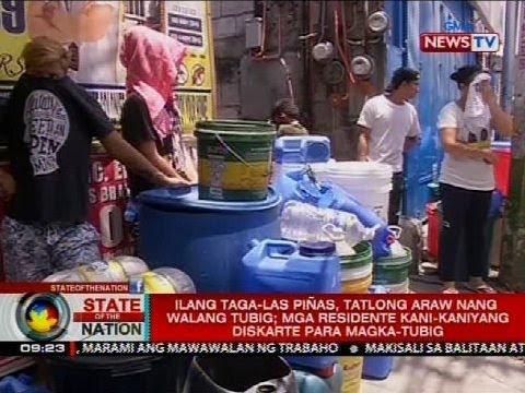 SONA: Ilang Taga-Las Piñas, Tatlong Araw Nang Walang Tubig