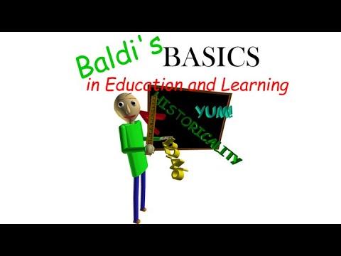 Baldi's Basics Classic (by Basically Games, LLC) IOS Gameplay Video (HD)