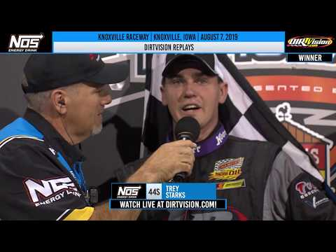 DIRTVISION REPLAYS | Knoxville Raceway August 7th, 2019