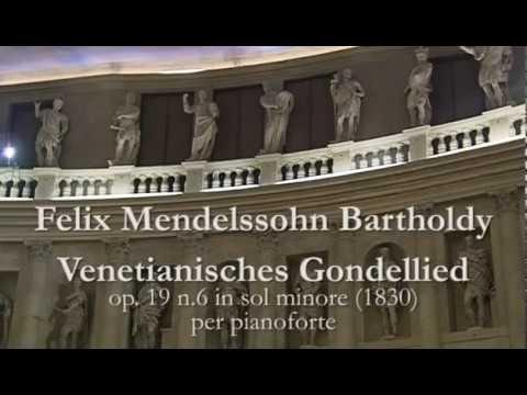 Mendelssohn: Gondola Song op. 19 no. 6 - R. Prosseda