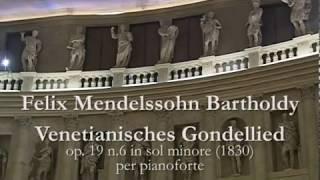 Mendelssohn: Gondola Song op. 19 no. 6