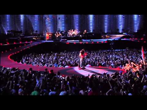 U2  Still havent found + All I Want Is You + City of Blinding Lights Milan 2005 HD