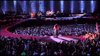 U2 perform I still Haven't Found What I'm Looking For, All I want I...