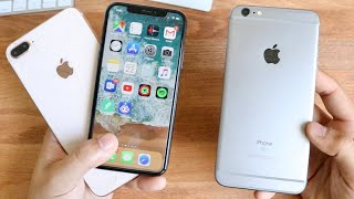 iPhone 6S Plus FASTER Than iPhone 8 Plus and iPhone X On iOS 12!