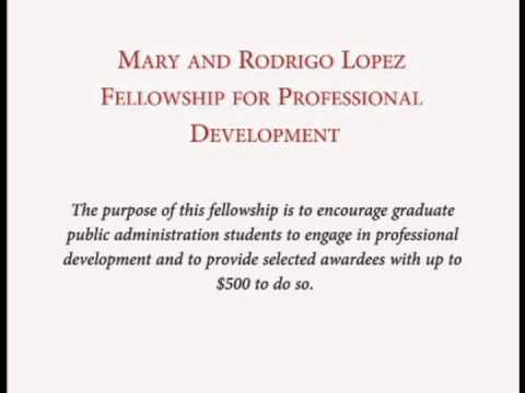 Scholarship Opportunities for the School of Public Administration
